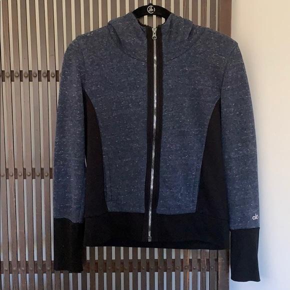 ALO yoga zip front jacket